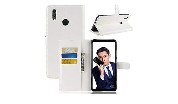 Ouyashun CN Funda para Huawei Honor Note 10 Funda Flip Cuero + TPU ...