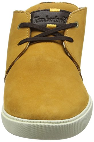 Timberland Newmarket_Fulk LP Mid Herren Chukka Boots Braun (Wheat Nubuck)