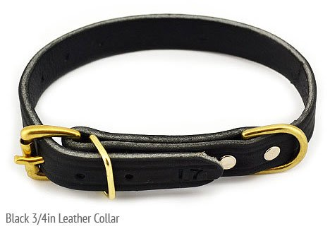 Leerburg's Amish Soft Latigo Leather 3/4