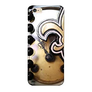 New Time For Football New Orleans Saints Tpu Skin Case Compatible With Iphone 6 Plus/ Perfect Design