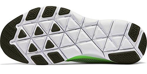 Dri da uomo corte Wolf SS Grey a Green White maniche Fit Maglietta rage Cool Nike 8q0dz8