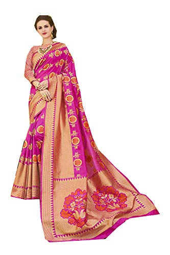 Sari Women Indian Rani Pink Wear Party Traditional For Designer Sarees xwwZ1vA0
