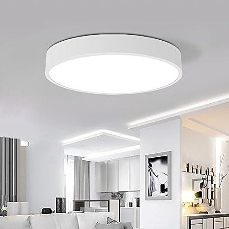 Dormitorio LED lámpara de techo plancha restaurante circular ...