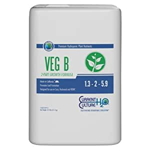 Cultured Solutions Veg B 5 Gallon (1/Cs)