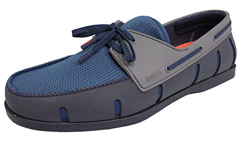 Zwemt Mens Boot Loafers Marine / Denim