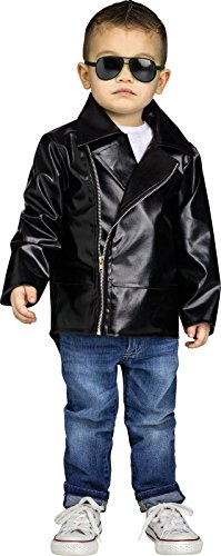 [Rock n' Roll 50's Child Jacket] (Rock N Roll Costumes For Kids)