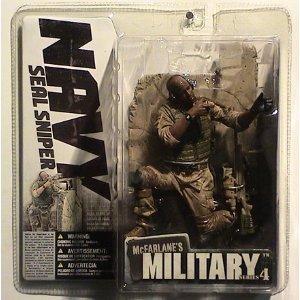 "McFarlane Toys 6"" Military Series 4 - Navy Seal Sniper Afric"