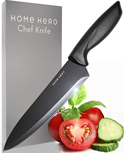 Chef Knife Chefs Knife - 8 Inch Chef Knife 8 Inch Chefs Knife Chef Knives - Sharp Knife Made Out Of Stainless Steel With Ergonomic Handle Protective Finger Guard - Kitchen Knife Cooking Knife