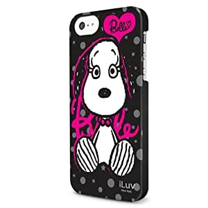 iLuv Snoopy Series Case for iPhone 5C - Retail Packaging - Black