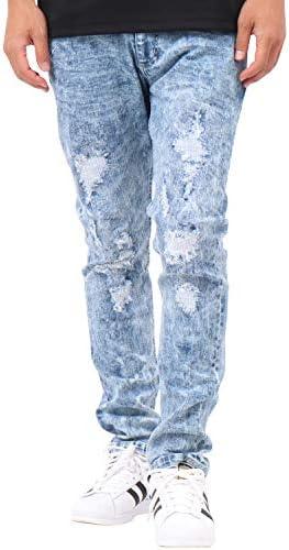 [カールカナイ] Karl Kani ジーンズ ソーブテック ストレッチ ダメージ デニム パンツ 192K1801