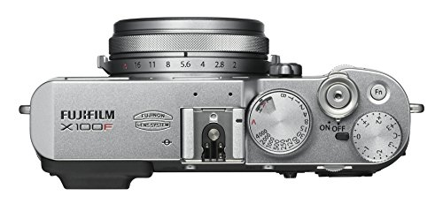 Fujifilm X100F 24.3 MP Mirrorless Camera with Fixed f23 mm F2 Lens (APS-C X-Trans CMOS III Sensor, Hybrid Viewfinder, 3… 2