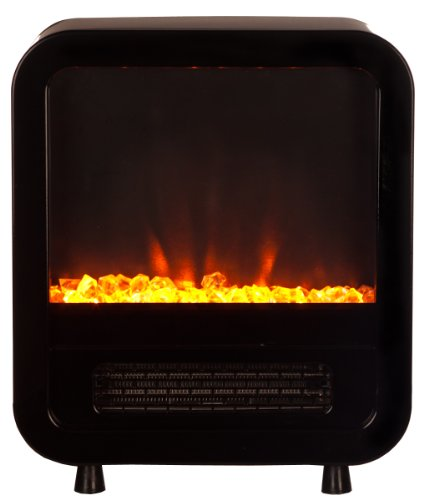Fire Sense 61237 Skyline Electric Fireplace Stove, Black