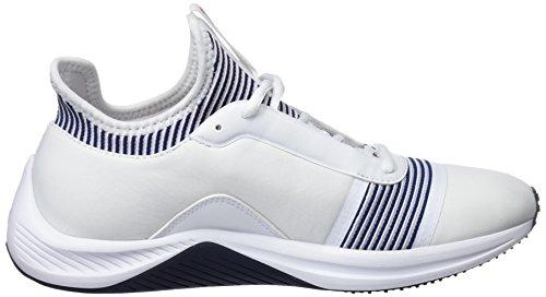 Fitnessschuhe peacoat White Puma Damen Amp XT 02 Puma WN's Weiß I1vaqq6