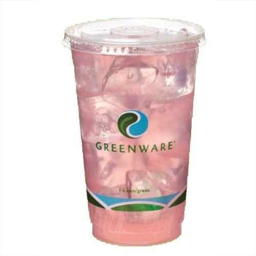 12oz CLEAR GreenWare Cold Cups 50pk / Case / 1000ct by Greenware