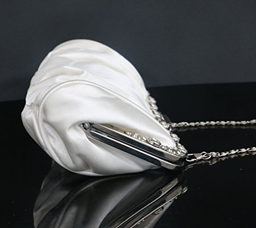 Evening Silk Plum ZYXCC Bride red Clutch SHISHANG Bag Bridesmaid Bag Bag Folds 6vZvqfdw