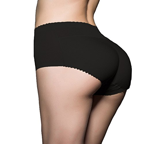 Lelinta Women mid-rised Waist Butt Lifter Padded Panty | Enhancing Body Shaper for Women | Seamless