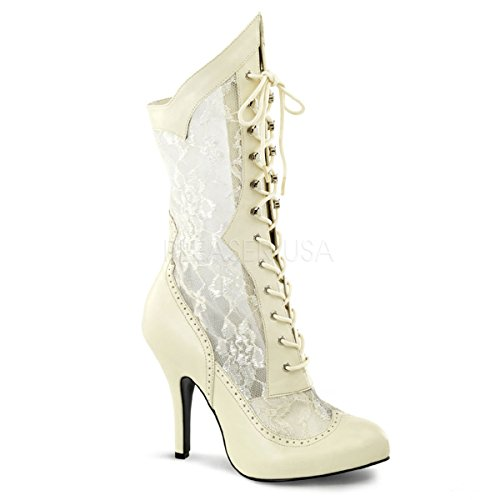 Elfenbein Heels White Higher Womens Low OX4XPR