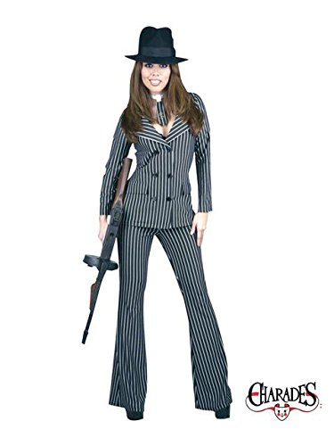 Gangster Moll Zoot Suit - Adult Costume (Zoot Suit Costume Tie)