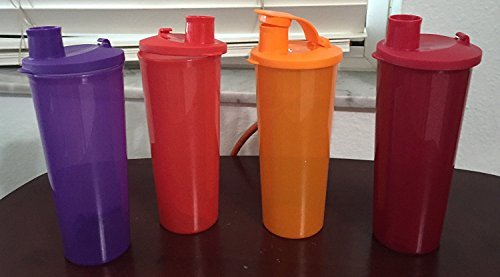Tupperware Be Dazzled Tumbler 4 piece Set in Sparkling Shades