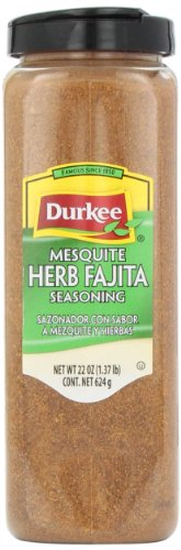 Durkee Mesquite Seasoning, Herb and Fajita, 22-Ounce