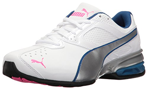 finest selection 32f5a 9d55f PUMA Women s Tazon 6 WN s FM Cross-Trainer Shoe, White Silver-Knockout Pink