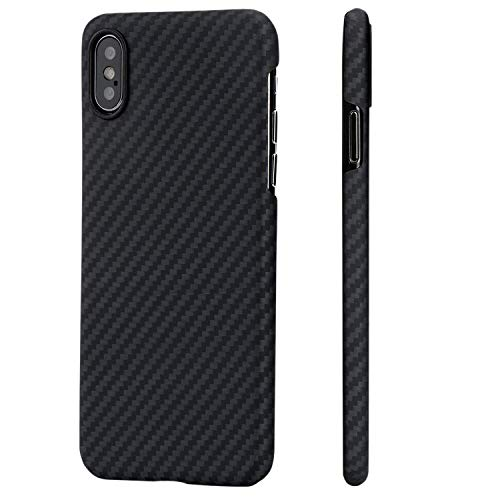 Carbon Fiber Phone Case for iPhone X/10 5.8-inch by Musong Tech (Image #1)