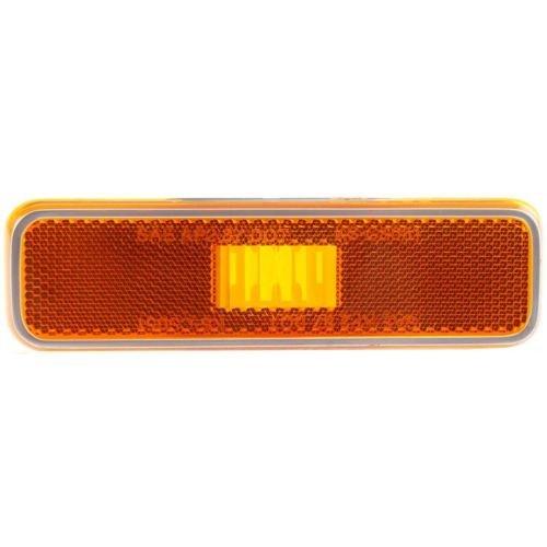 MAPM Front, Driver Or Passenger Side Car & Truck Side Marker Lights Amber Lens CH2550101 FOR 1979-1993 Dodge D150