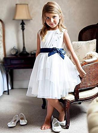 generisch generisch SLY Mädchen Kleid Festlich Hochzeit