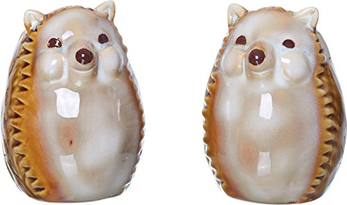 Hedgehog Salt and Pepper Shaker Set3 x 2 inch