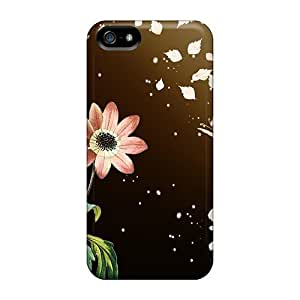 Hot Fashion PcQ29566SsNw Design For SamSung Galaxy S4 Mini Phone Case Cover Protective Cases (flowers Butterfly Leaf Scatter)