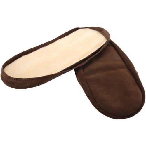 Somerset Designs Men's Suede Soles, 12-Inch, Up-Brown