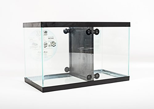 Fin Friends 29 or 55 Gallon Aquarium Fish Tank Divider with Suction Cups – 10 & 20 Gallon Dividers Now Available!