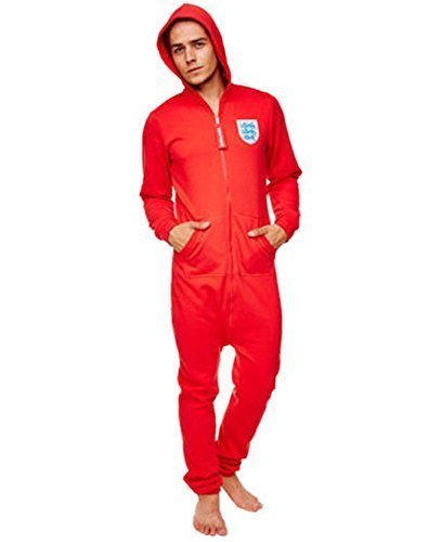 Groovy - Pijama de una pieza - para hombre Rojo Large