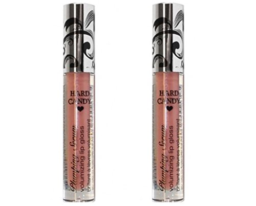 LOT 2 Hard Candy Lip Plumping Serum Volumizing Lipgloss - AL
