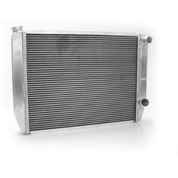 Griffin Radiator 1-58241-X MaxCool 27.5 x 15.5 2-Row Dual Pass Right Race Radiator with 1.25 Tube