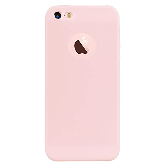 new style eff46 a8d1b iPhone 5S Case,iPhone SE Case,iPhone 5 Case, Alkax Cute Slim Rubber  Shockproof Shell Bumper Protection Silicone Design Thin Soft TPU Flexible  Cover ...