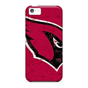 KennethKaczmarek Iphone 5c Anti-Scratch Cell-phone Hard Covers Allow Personal Design Lifelike Arizona Cardinals Series [dOl6127Dvuf]