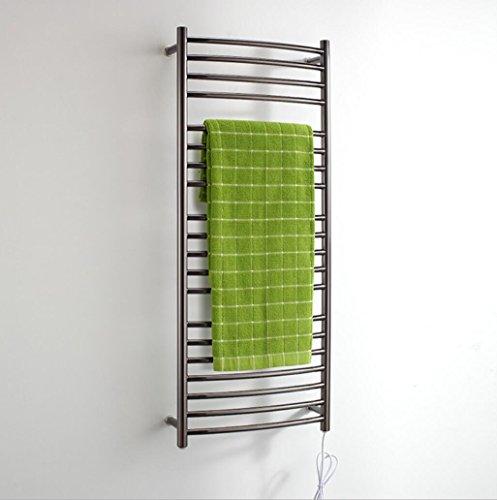 TuTu Wall Mounted Stainless Steel Electric Heated Towel Rail / Bathroom Radiator / Towel Warmer ()