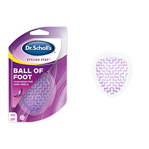 Dr. Scholl's BALL OF FOOT Cushions for High Heels (1 Pair) // Relieve and Prevent Ball of Foot Pain from High Heels