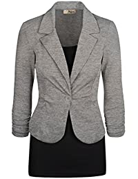 Amazon.com: Grey - Blazers / Suiting & Blazers: Clothing, Shoes ...
