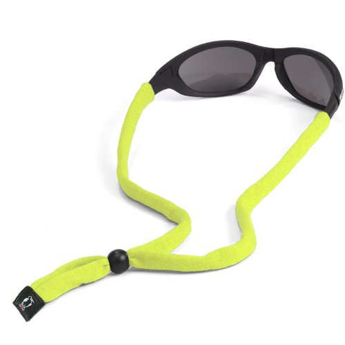(Chums Original Cotton Standard End Eyewear Retainer, Hi Vis)