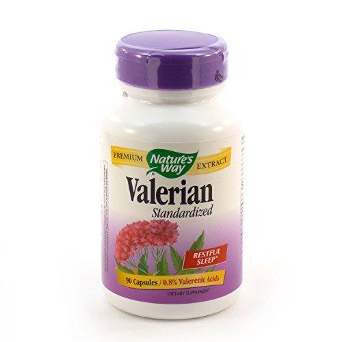 Bundle - 2 Items: 1 Bottle of Standardized Valerian by Natur