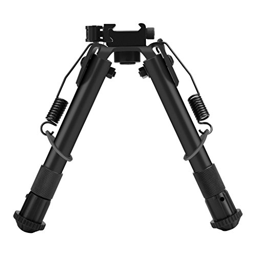 WELQUIC 6-9 Inches Hunting Rifle Bipod, Height Adjustable Sp