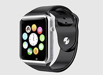 Viwel® W88 whatsapp facebook twitter Bluetooth 3.0 Reloj Inteligente con Cámara, TF / tarjeta