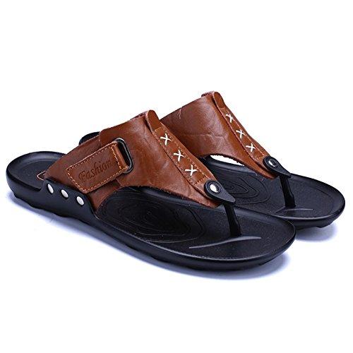 pantofole Per brown Uomo 3 Dimensione Esterno Spiaggia Pantofole Da spiaggia 2 Scarpe da Da Pantofole 40 Wagsiyi EU Marrone Colore Antiscivolo Light fZxdSqq