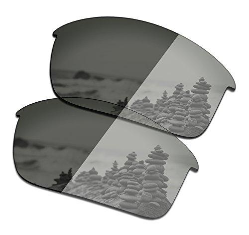 SmartVLT Men's Grey Photochromic Replacement Lenses for Oakley Bottle Rocket Sunglass by SmartVLT