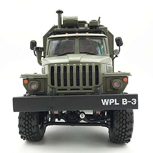 Gbell 6WD RC Military Truck Crawler Off-Road Car, WPL, used for sale  Delivered anywhere in USA
