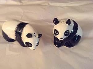 Panda Bear Salt and Pepper Shaker Set