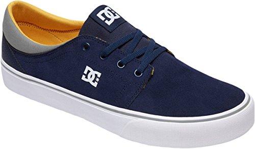 Dc Mens Trase Sd Scarpa Da Skate Navy / Giallo