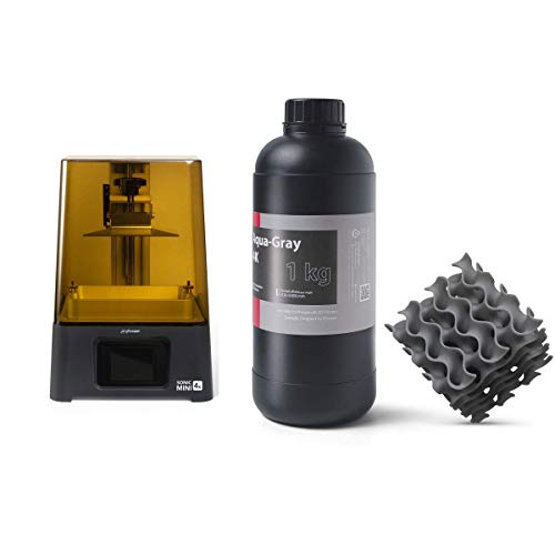 Phrozen Sonic Mini 4K 3D Printer + Phrozen Aqua-Gray 4K Resin